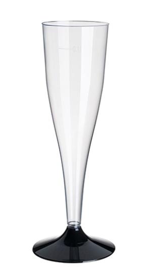 plastglas på fot